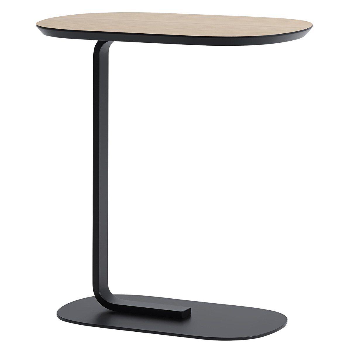 Muuto Relate sivupöytä, tammi - musta