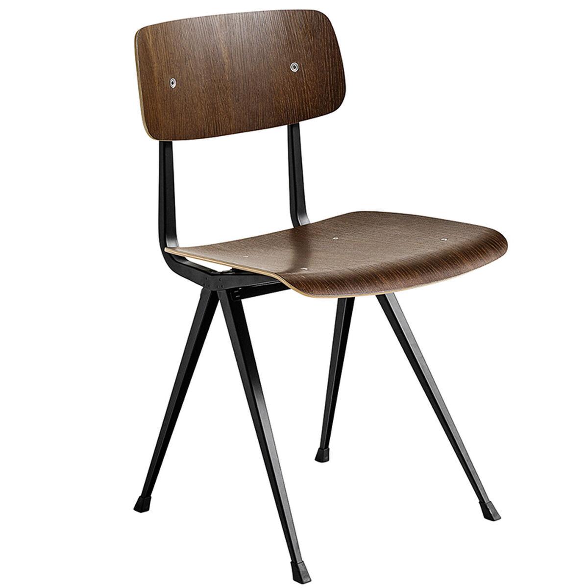 Hay Result tuoli, musta - savustettu tammi