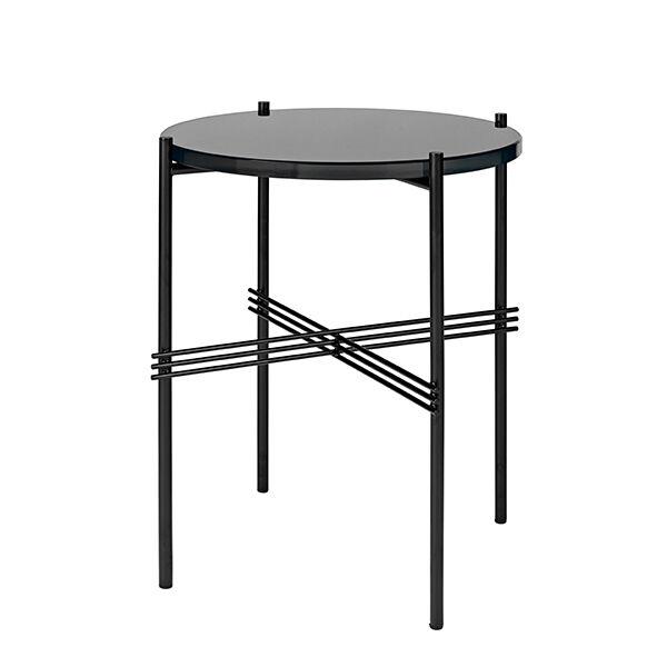 Gubi TS sohvapöytä, 40 cm, musta - musta lasi