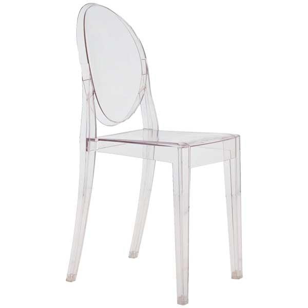 Kartell Victoria Ghost tuoli, kirkas