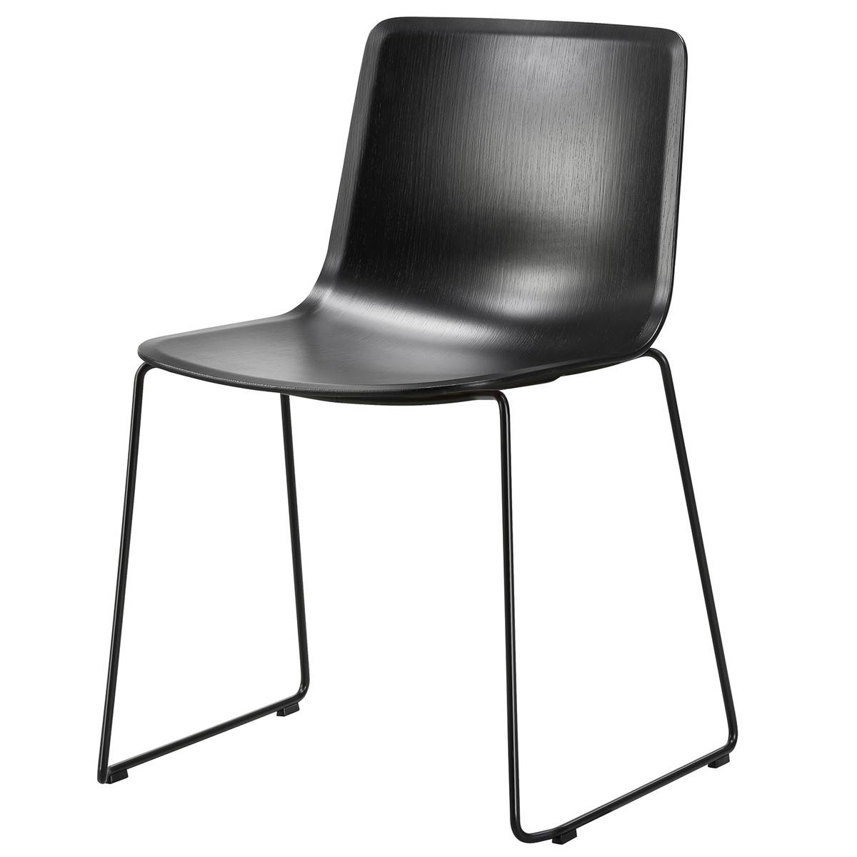 Fredericia Pato tuoli, kelkkajalka, musta