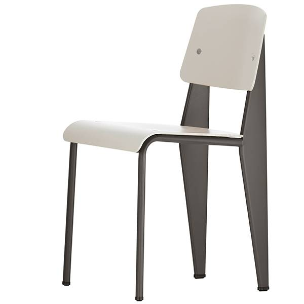 Vitra Standard SP tuoli, basalt - warm grey