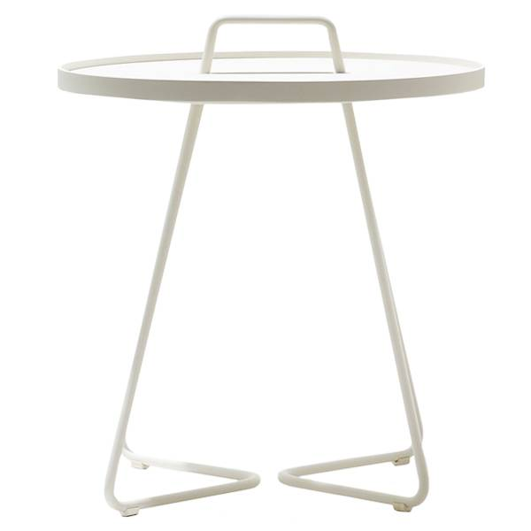 Cane-line On-the-move pöytä, iso, valkoinen