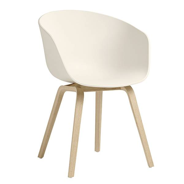 Hay About A Chair AAC22 tuoli, cream white - tammi
