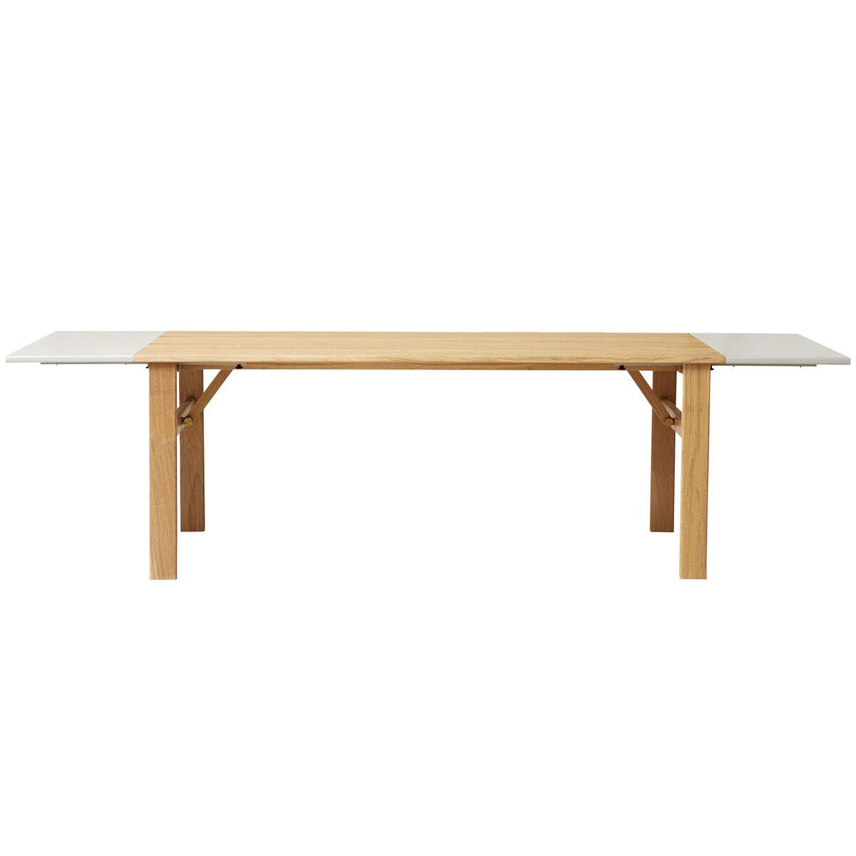 Form & Refine Damsbo ruokapöydän jatkopalat, 2 kpl, mattaharmaa