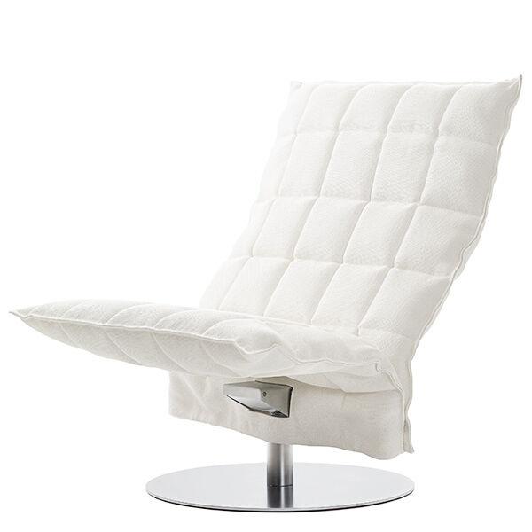Woodnotes K tuoli, py�riv�, leve�, valkoinen