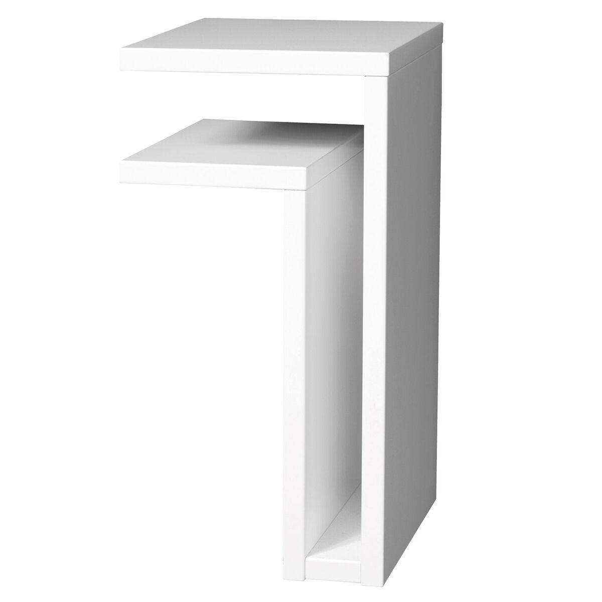 Maze F-shelf seinähylly, vasen, valkoinen