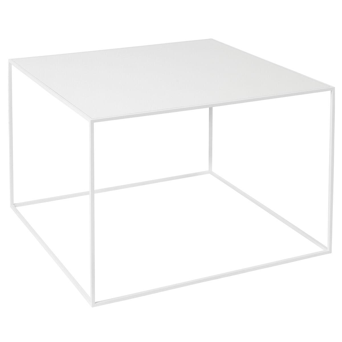 By Lassen Twin 49 sohvapöytä valkoinen, valkoinen/tammi