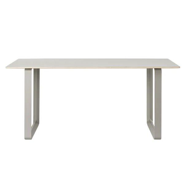 Muuto 70/70 pöytä, 170 x 85 cm, linoleum/laminaatti