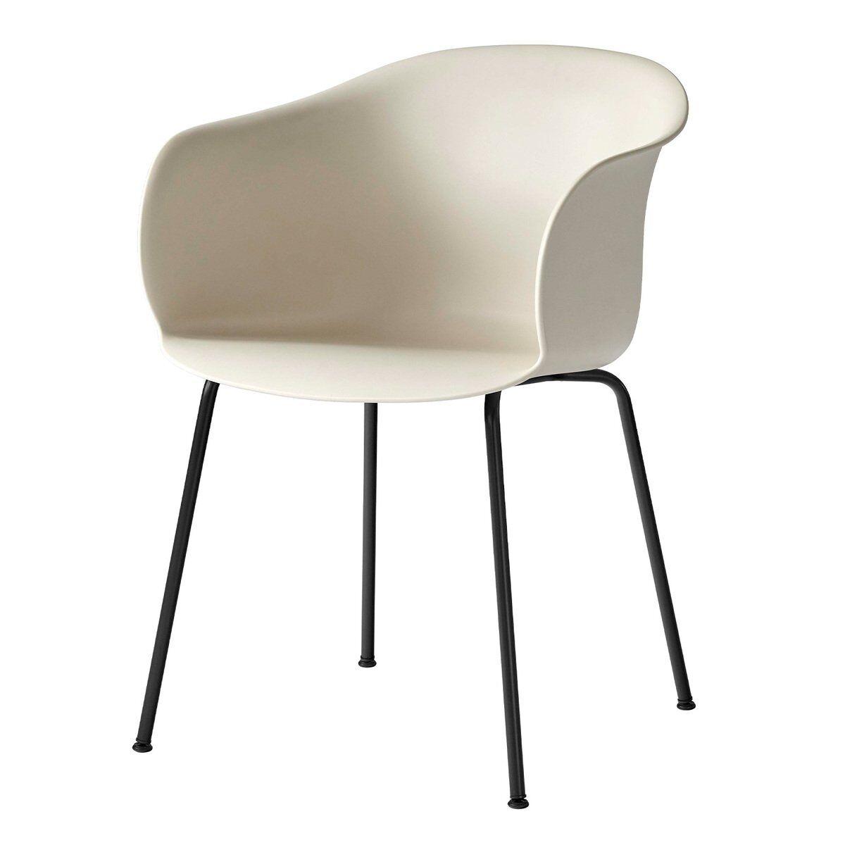 &Tradition Elefy JH28 tuoli, soft beige - musta