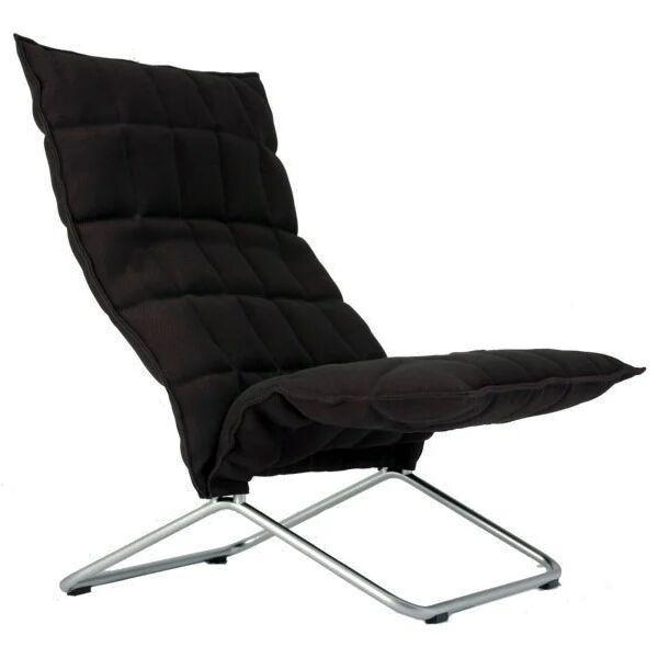 Woodnotes K tuoli, leve�, musta