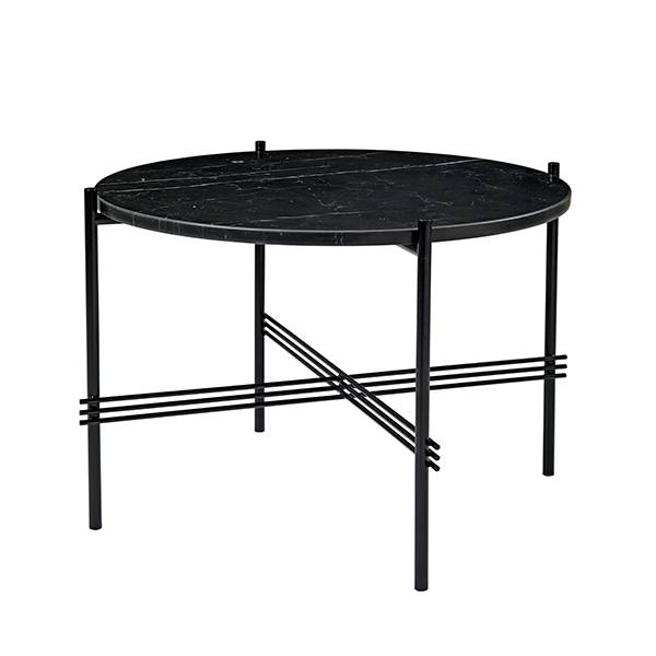 Gubi TS sohvapöytä, 55 cm, musta - musta marmori