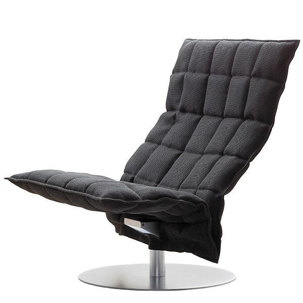 Woodnotes K tuoli, py�riv�, leve�, musta