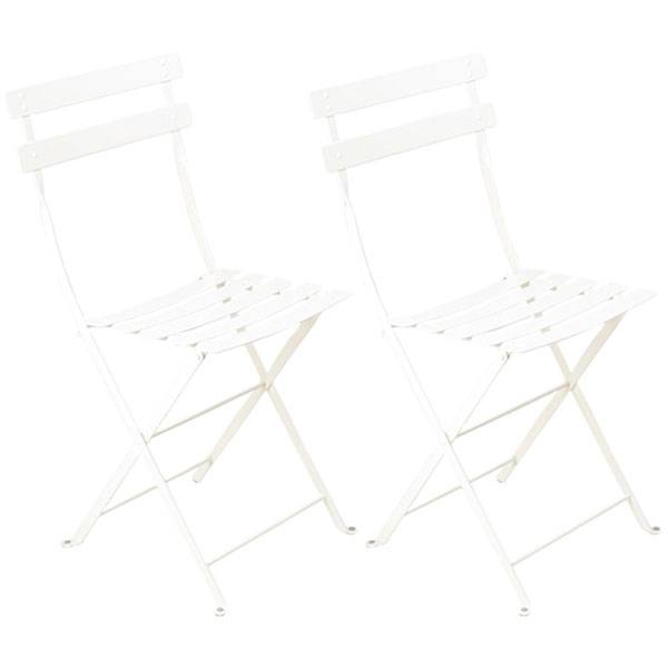 Fermob Bistro Metal tuoli, 2 kpl, cotton white