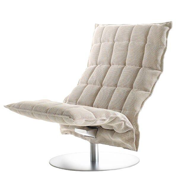 Woodnotes K tuoli, py�riv�, leve�, kitti/valkoinen