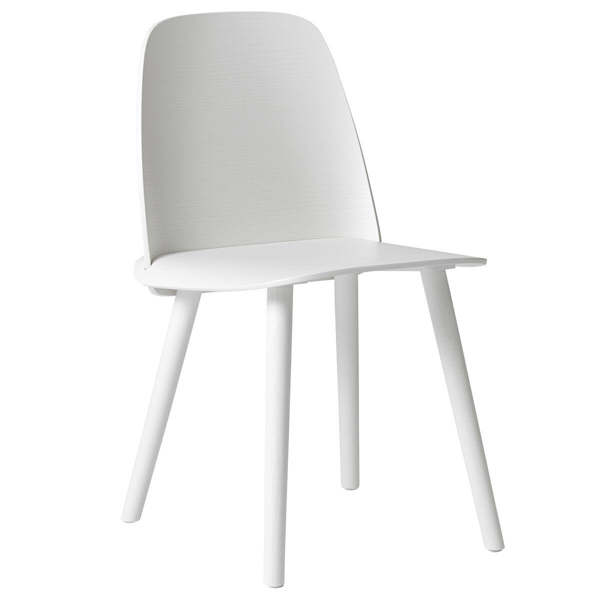 Muuto Nerd tuoli, valkoinen