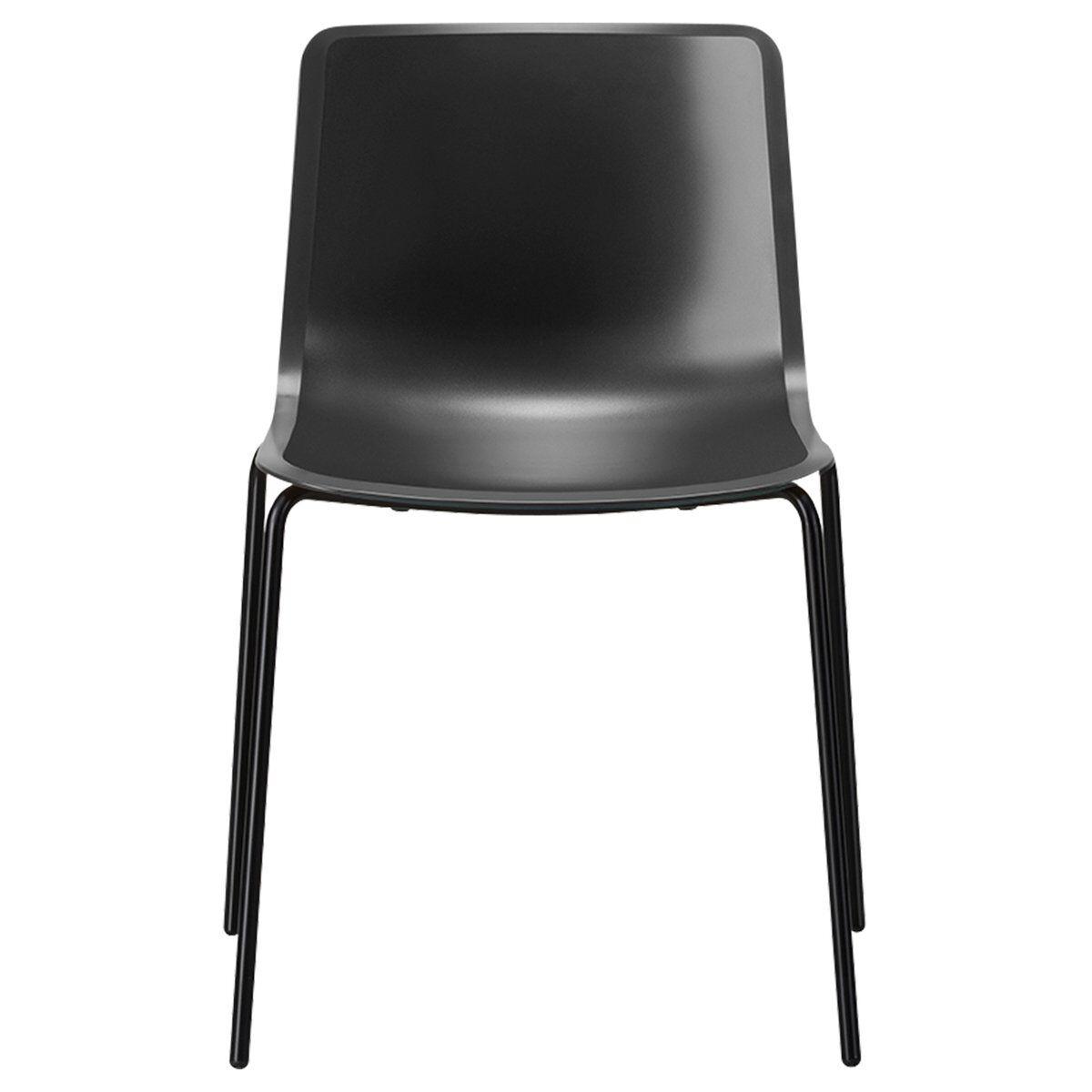Fredericia Pato tuoli, 4 jalkaa, musta