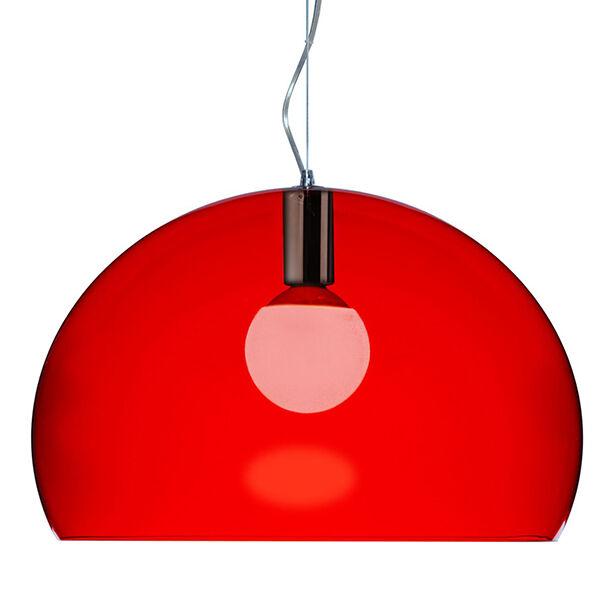 Kartell FL/Y riippuvalaisin, punainen