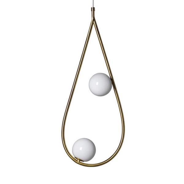 Pholc Pearls 65 riippuvalaisin, messinki