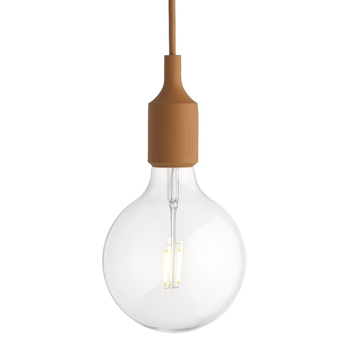 Muuto E27 LED valaisin, clay brown