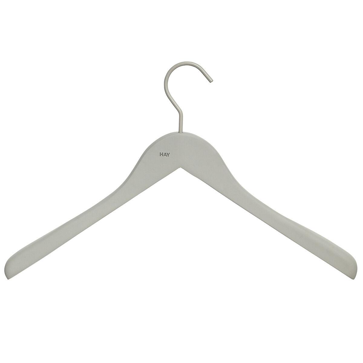 Hay Soft vaateripustin leve�, harmaa, 4 kpl
