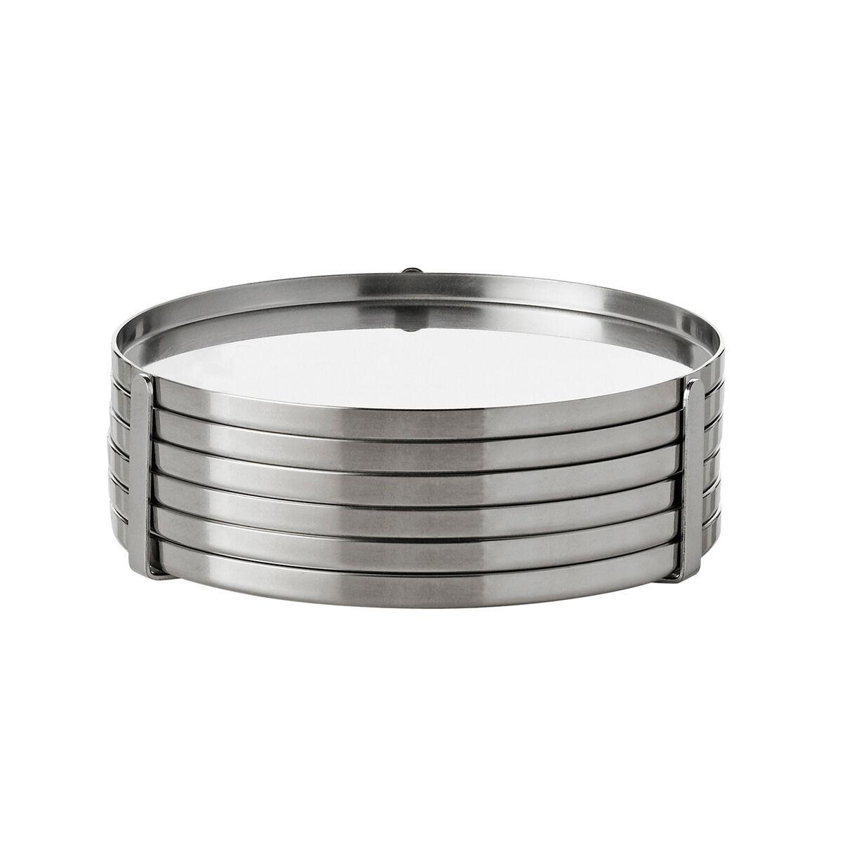 Stelton Arne Jacobsen lasinaluset, 6 kpl