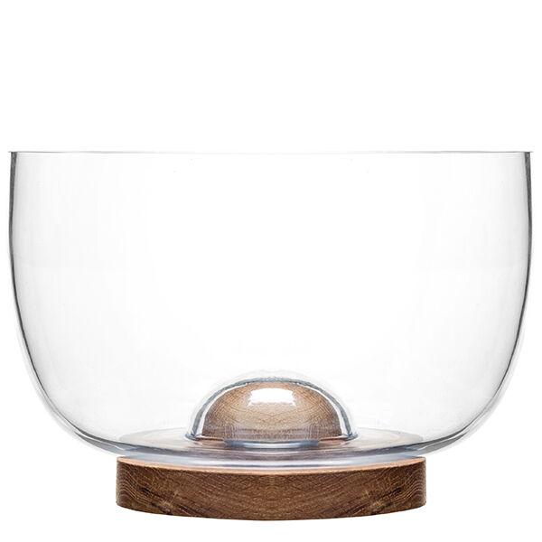 Sagaform Oak lasikulho, suuri