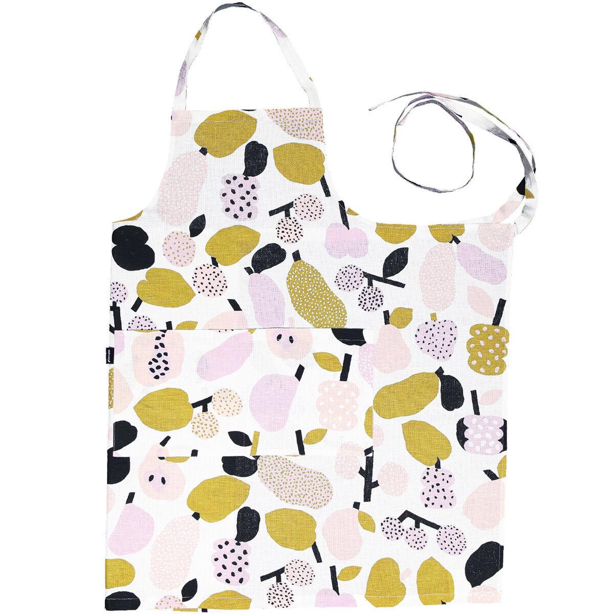 Kauniste Tutti Frutti esiliina, oliivinvihreä
