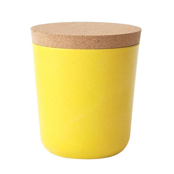 Ekobo Claro säilytyspurkki, XL, lemon