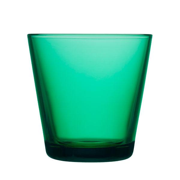 iittala Kartio juomalasi 21 cl, smaragdi, 2 kpl