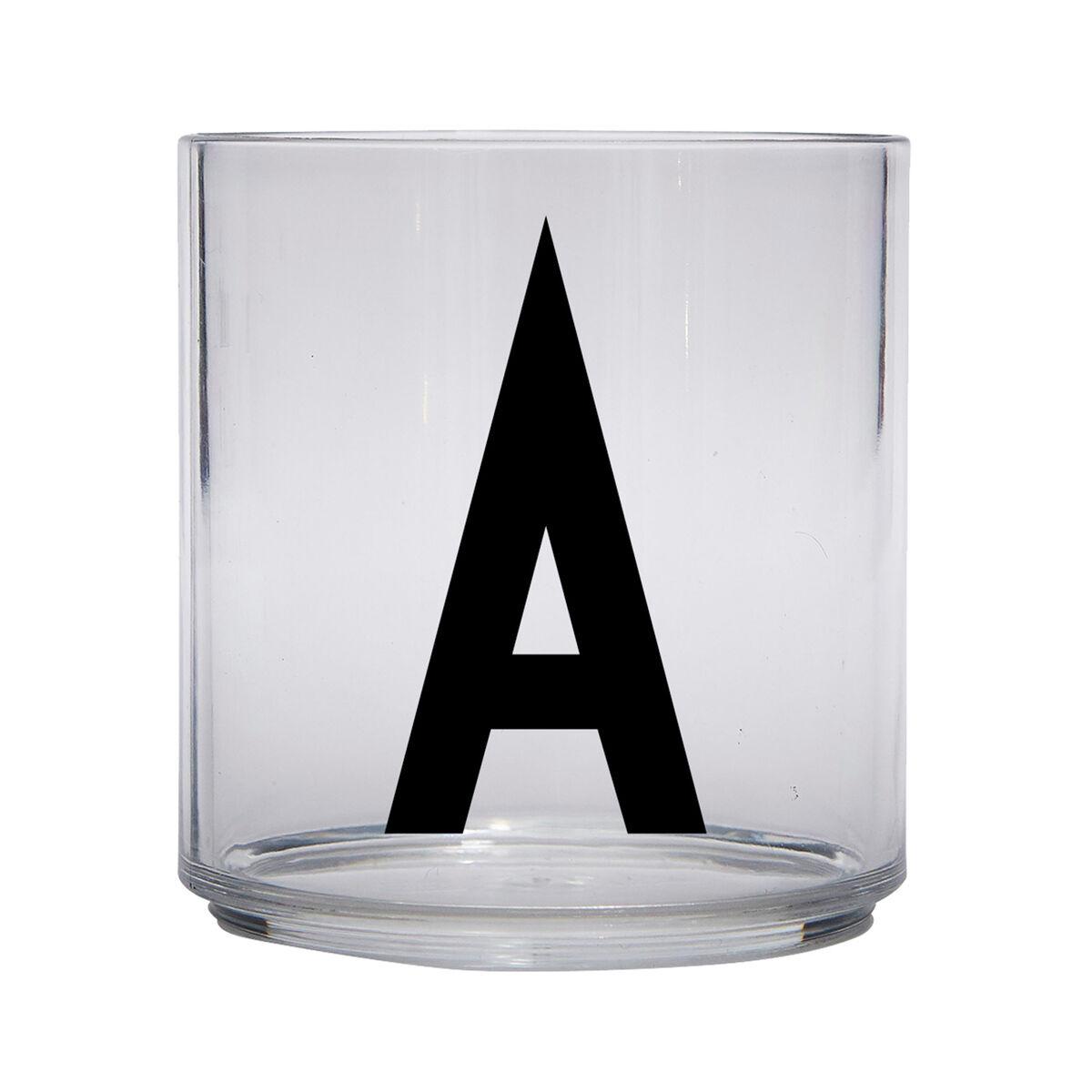 Design Letters Lasten juomalasi, A-Z