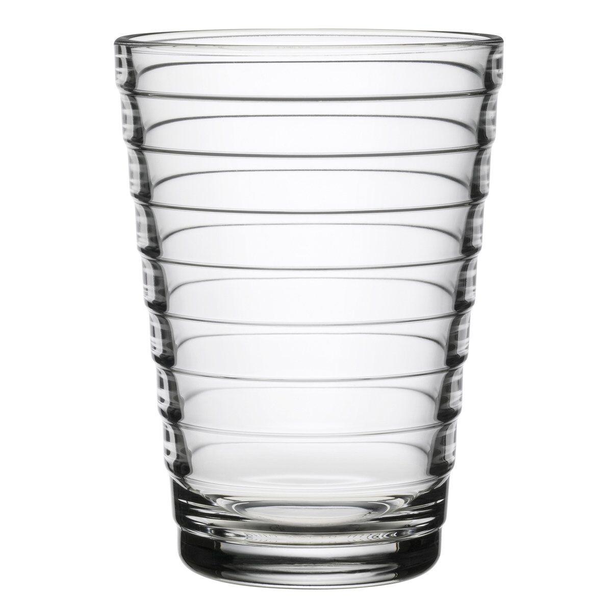 iittala Aino Aalto juomalasi 33 cl, kirkas, 2 kpl