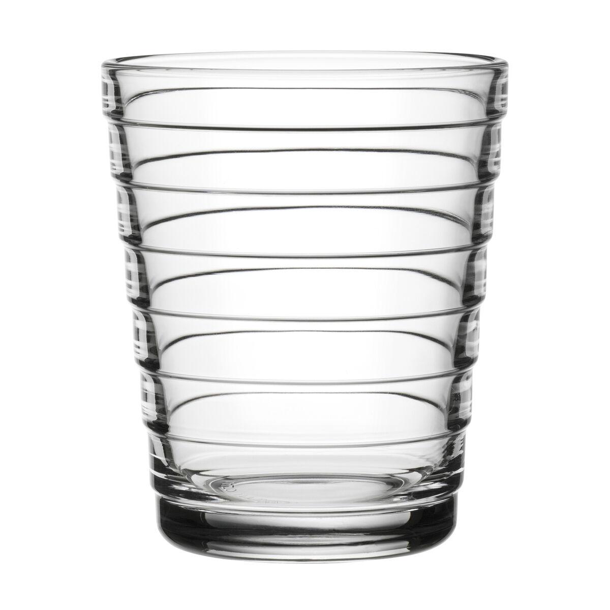 iittala Aino Aalto juomalasi 22 cl, kirkas, 2 kpl