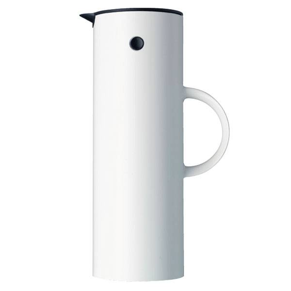 Stelton EM77 termoskannu 1,0 L, valkoinen