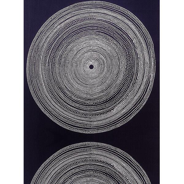 Marimekko Fokus kangas, musta