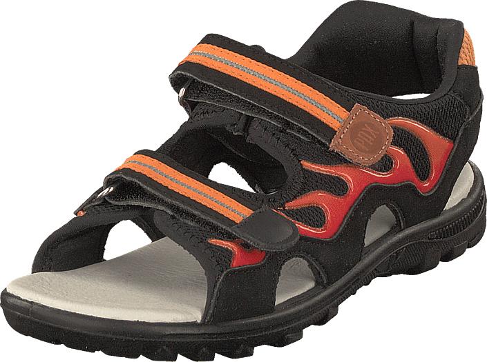 Pax Firefly Black, Kengät, Sandaalit ja tohvelit, Sporttisandaalit, Musta, Unisex, 32