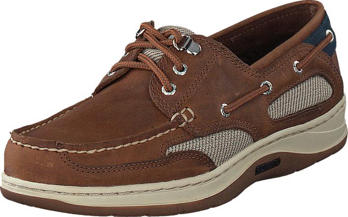 Sebago Clovehitch II Walnut, Kengät, Matalapohjaiset kengät, Purjehduskengät, Ruskea, Miehet, 45
