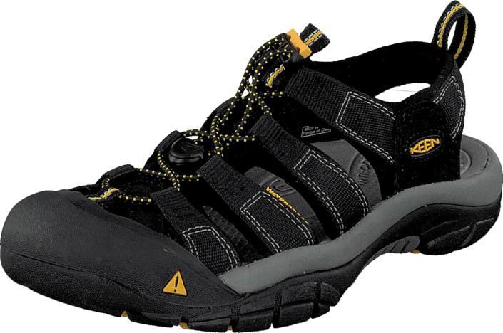 Keen Newport H2 Black, Kengät, Sandaalit ja tohvelit, Sporttisandaalit, Musta, Miehet, 44