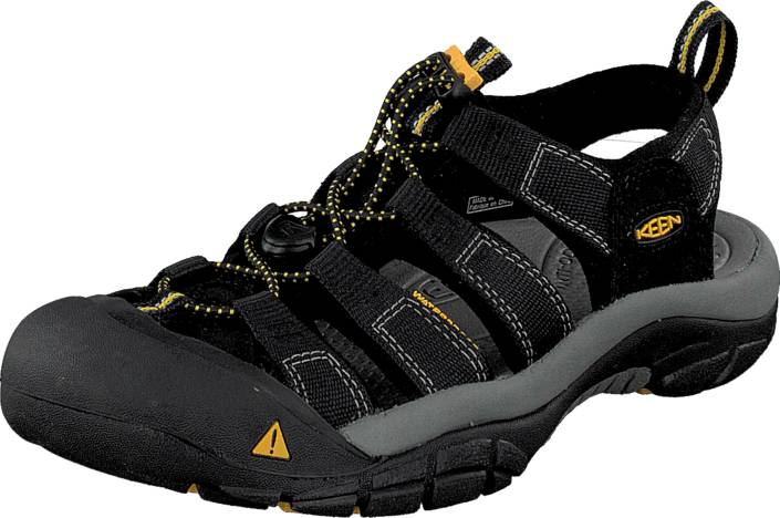 Keen Newport H2 Black, Kengät, Sandaalit ja tohvelit, Sporttisandaalit, Musta, Miehet, 42