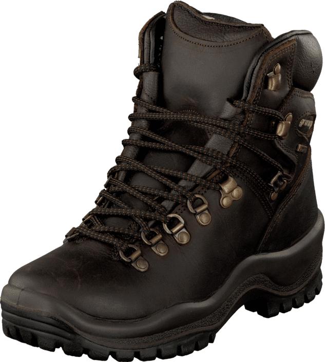 Graninge Dakar Trekking Dark Brown/Grantex, Kengät, Bootsit, Vaelluskengät, Ruskea, Unisex, 37