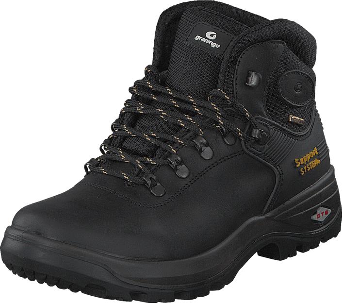 Graninge Leather Boot 521 Black, Kengät, Bootsit, Vaelluskengät, Musta, Unisex, 45
