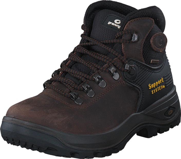 Graninge Leather Boot 521 Brown, Kengät, Bootsit, Vaelluskengät, Ruskea, Harmaa, Unisex, 42