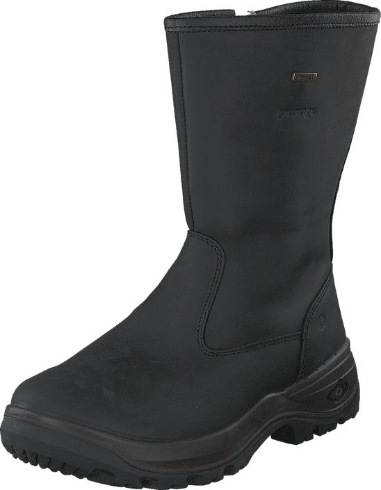 Graninge Leather Boot 561 Black, Kengät, Saappaat ja saapikkaat, Kumisaappaat, Musta, Naiset, 41