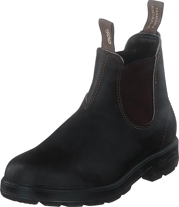 Blundstone 500 Leather Brown, Kengät, Bootsit, Chelsea boots, Musta, Ruskea, Unisex, 43