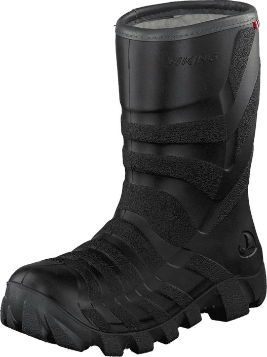 Viking Ultra Black/Grey, Kengät, Saappaat ja saapikkaat, Kumisaappaat, Musta, Unisex, 30