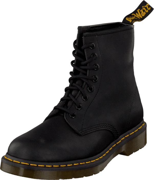 Dr Martens 1460 Black Greasy, Kengät, Bootsit, Chelsea boots, Musta, Miehet, 46