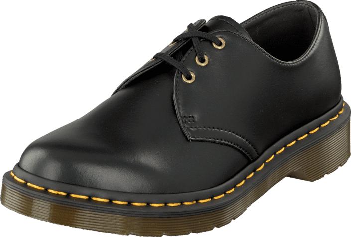 Dr Martens 1461 Vegan Black, Kengät, Matalapohjaiset kengät, Juhlakengät, Harmaa, Unisex, 39