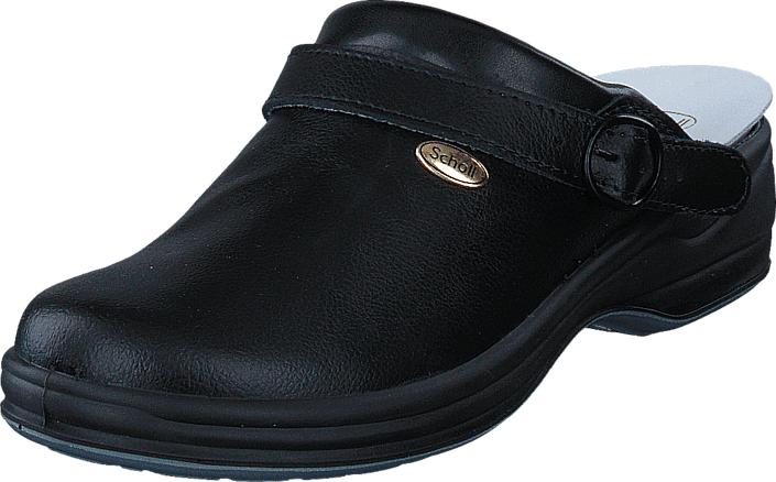 Scholl New Bonus Black, Kengät, Sandaalit ja tohvelit, Crocsit, Musta, Unisex, 46