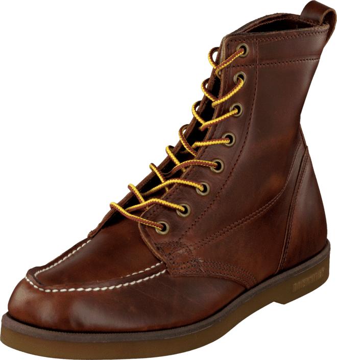 Sebago Fairhaven Boot Brown oiled waxy, Kengät, Bootsit, Kengät, Ruskea, Miehet, 40