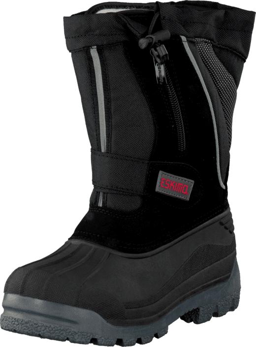 Eskimo Scooter Child Black, Kengät, Bootsit, Lämminvuoriset kengät, Musta, Unisex, 25